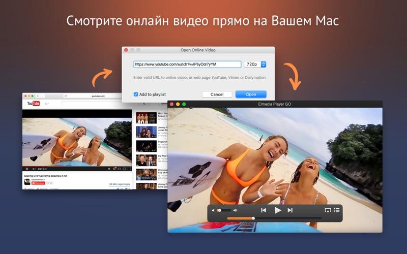 Elmedia Player GO скриншот программы 2