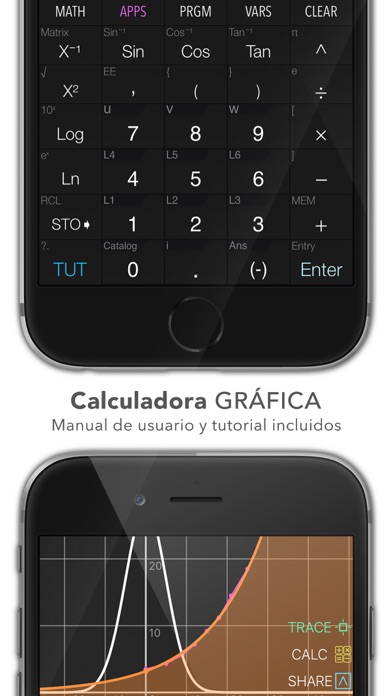 Screenshot for Calculadora Gráfica .CIE in Chile App Store