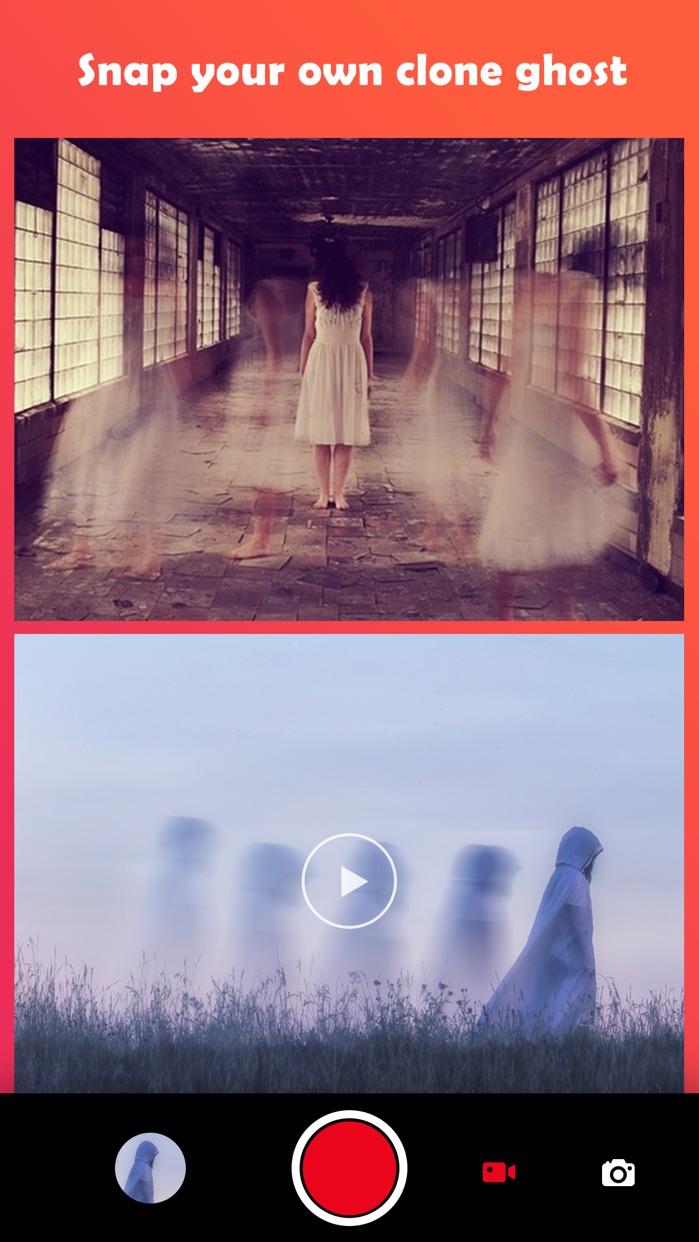Ghost Lens AR Fun Movie Maker Screenshot