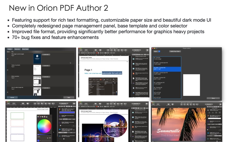Orion PDF Author 2 Screenshots