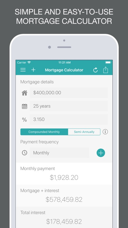 Mortgage Calculator + screenshot-0
