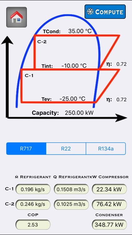 Refrigerant Calculator screenshot-3