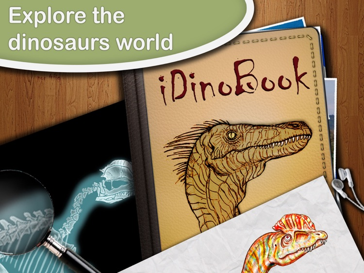 Dinosaur Book HD: iDinobook screenshot-0