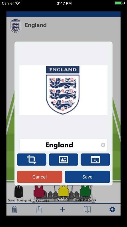 Soccer Best LineUp Maker App screenshot-5