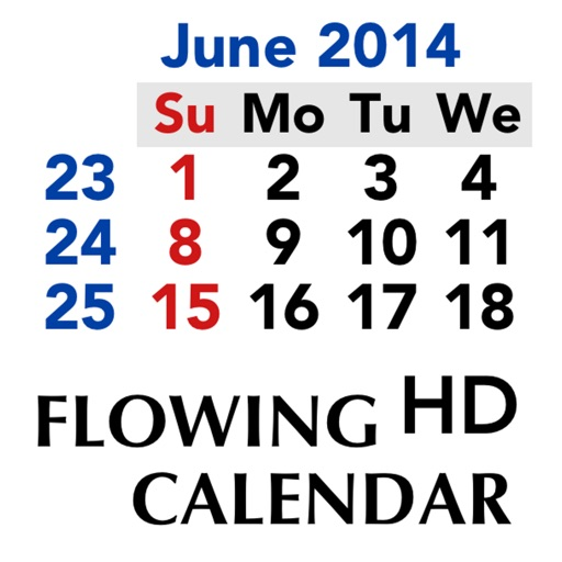 Flowing Calendar HD