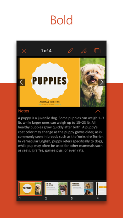 download Microsoft PowerPoint apps 1