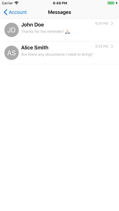 Uptrust screenshot three