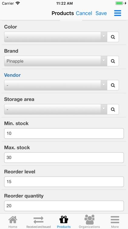 Nano Inventory screenshot-3