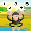 子供のための野生動物 - Sの123最初の数字-S&カウント-ING学び-INGゲーム