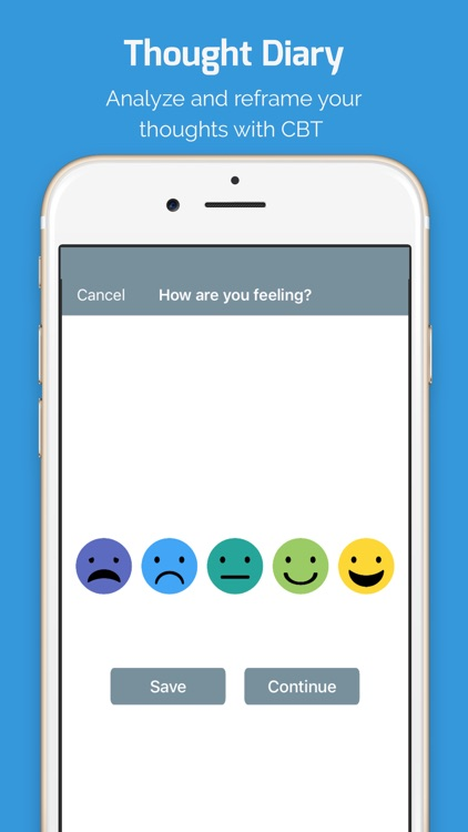 MoodTools - Depression Aid screenshot-1