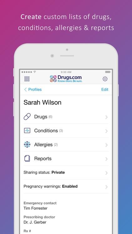 Drugs.com Medication Guide screenshot-4