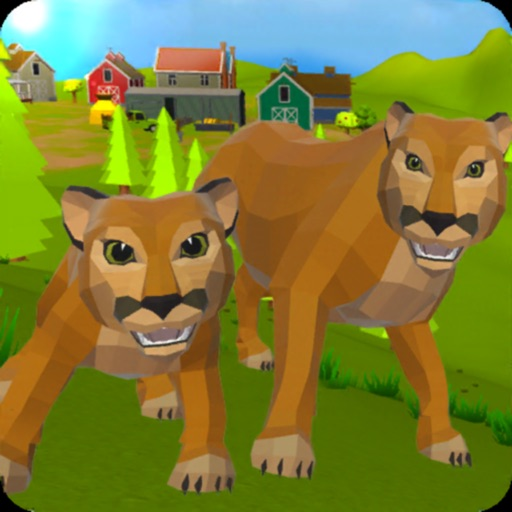 Cougar Simulator: Big Cats