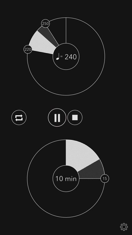 +tempo / metronome accelerator