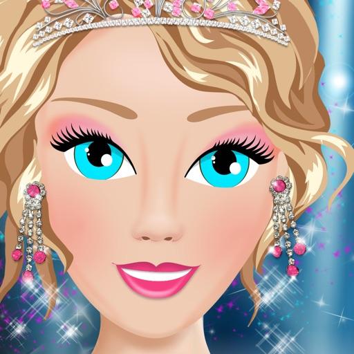 Prom Salon Girl Dressup Makeover Spa Fashion Game