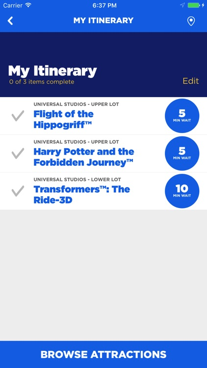 The Official Universal Studios Hollywood℠ App screenshot-3