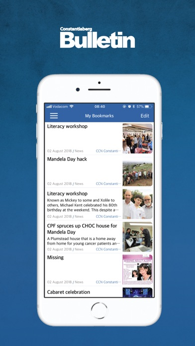 Image of Constantia Bulletin for iPhone