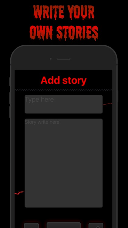 Scary Stories - Horror chat stories in the hooked screenshot-4