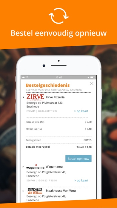 Takeaway.com - België for Windows