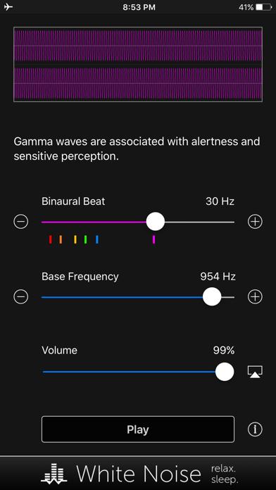 Binaural Beats Generator + screenshot 5