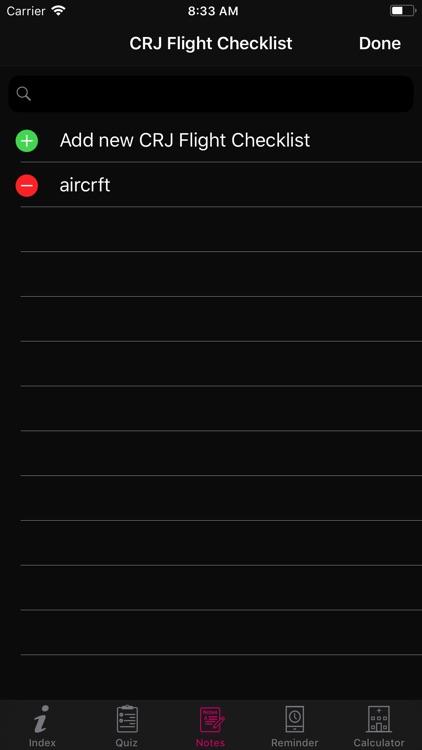 CRJ Flight Checklist screenshot-5