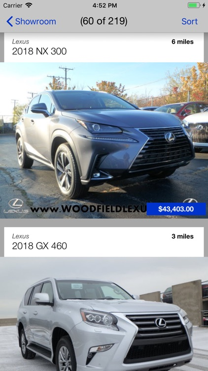 Woodfield Lexus DealerApp screenshot-1