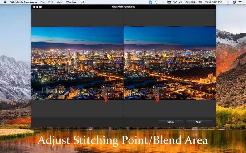 WidsMob Panorama-Photo Stitch screenshot 3