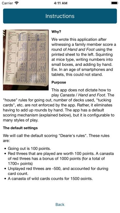 Hand and Foot Calculator screenshot-4