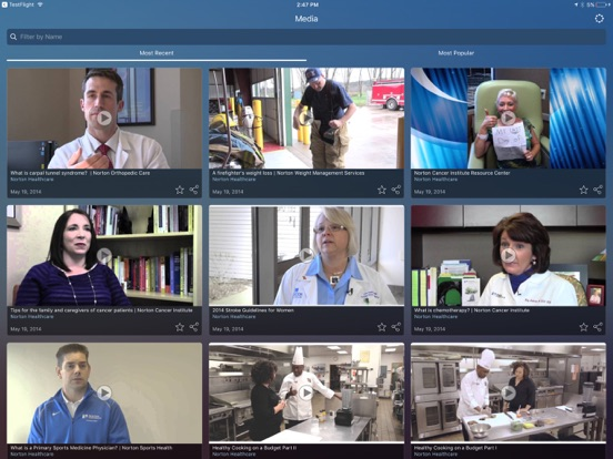Norton Healthcare iPad