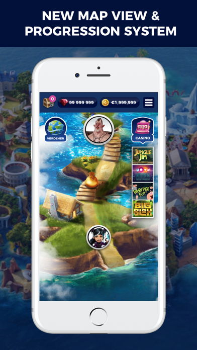 Casino Heroes - Slots, jackpot screenshot one