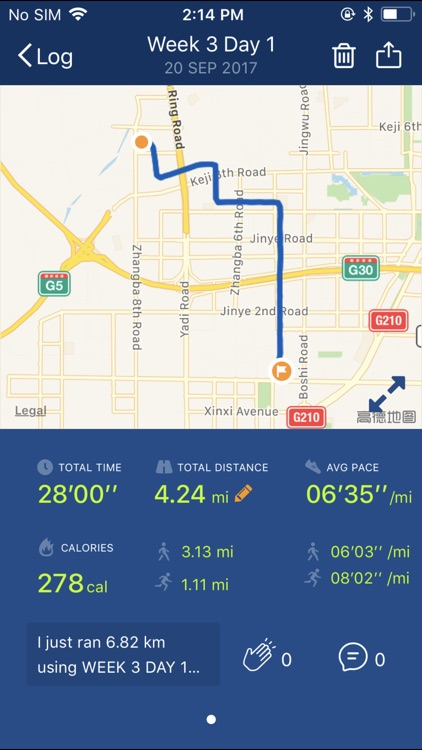 Couch to 5K® - Run training screenshot-4