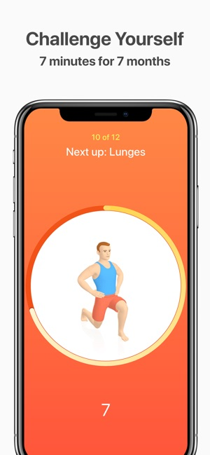 4c56b52e3e4 Seven - 7 Minute Workout on the App Store