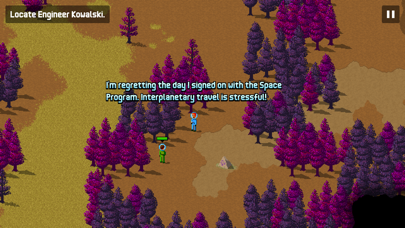 Screenshot from Space Age: A Cosmic Adventure