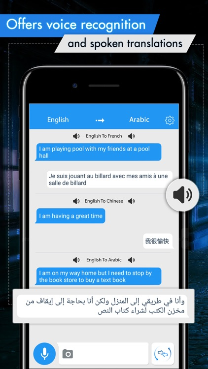 Translator with Speech
