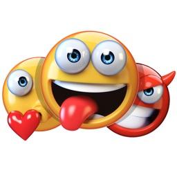 Emojis - 3D Emoji Stickers