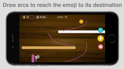 Emoji Race Ball Drop Dune Game screenshot two