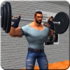 虚拟在健身中心锻炼健身房