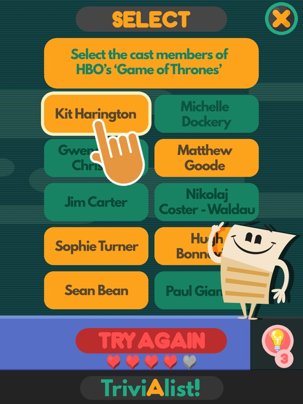 3 Minutes to Hack TriviAlist! A trivia quiz game - Unlimited