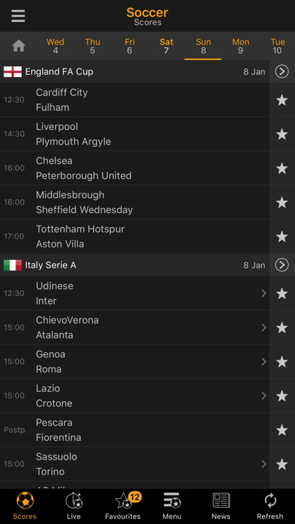 LiveScore screenshot-0