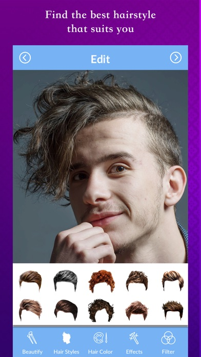 Men Hair Style Photo Editor App Price Drops