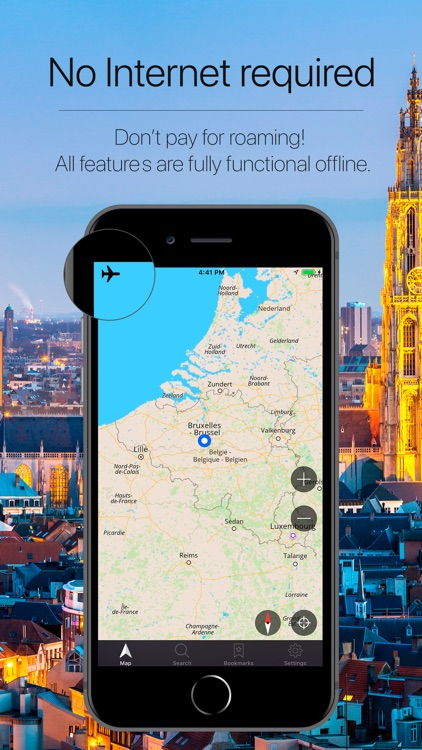 Belgium Offline NAvigation screenshot-0