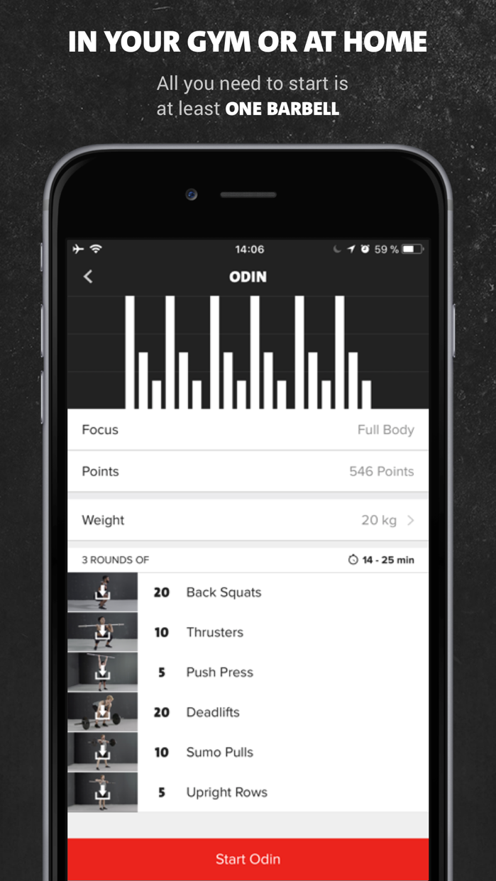 Freeletics Gym Screenshot