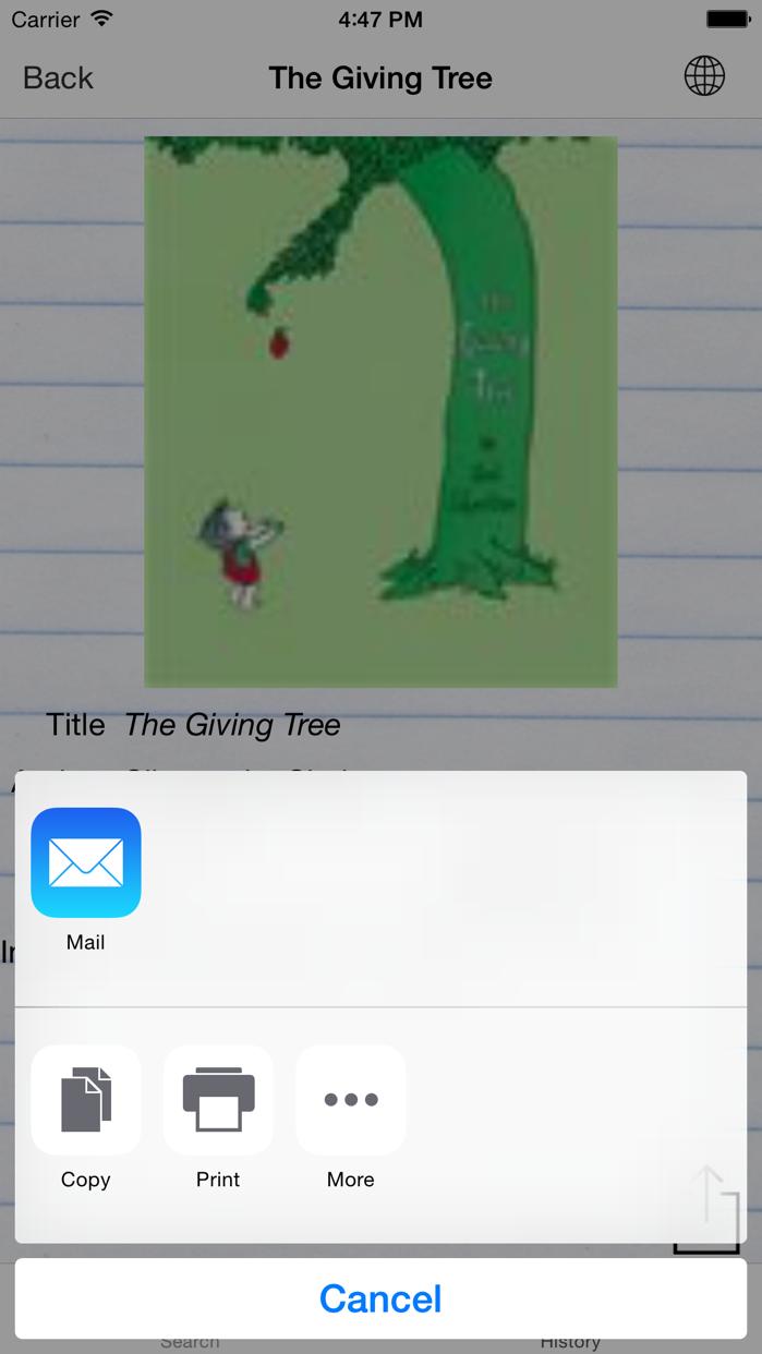 BookScanner App Screenshot