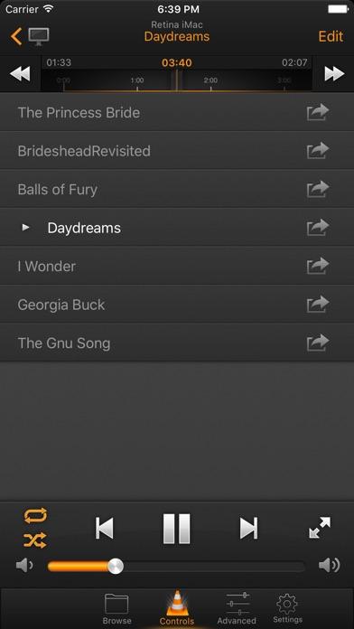 VLC Remote Screenshot 2