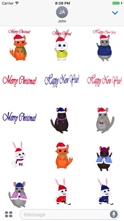 Xmas! stickers screenshot-0