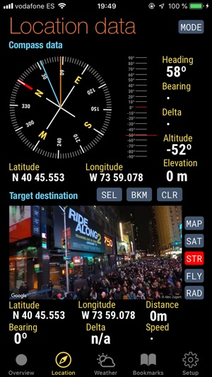 Quickgets Geo: geodata widgets Screenshot