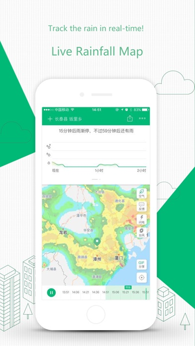 ColorfulClouds Weather Pro Screenshots