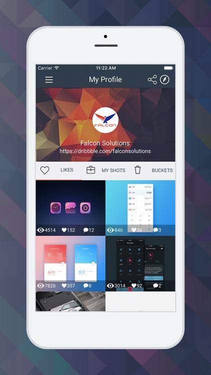 SlamDunk - Dribbble client screenshot-3