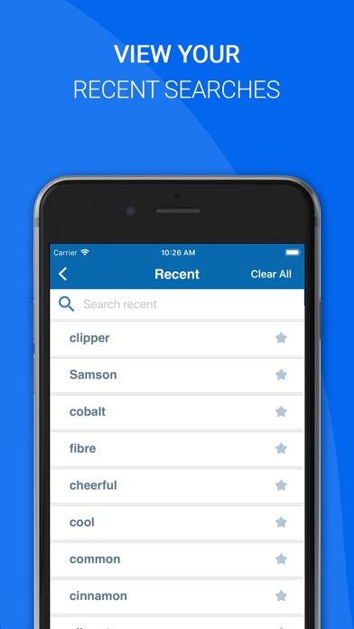 Screenshot for Oxford English Dictionary 2018 in Argentina App Store