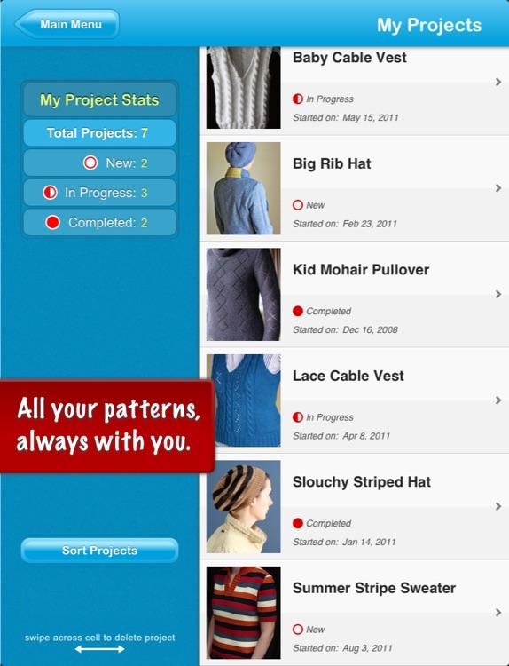 JKnitHD Lite - Knitting Helper