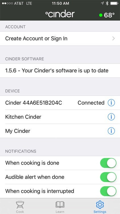 Cinder Precision Grill screenshot-4